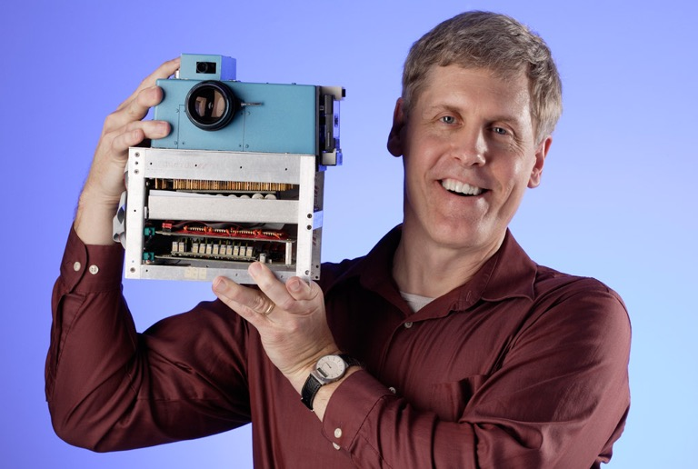 Steven Sasson and the first digital camera